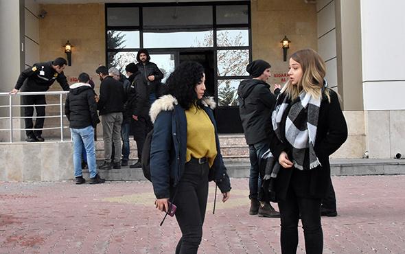 Üniversitede dehşet anları: Öğrenciler tahliye edildi!