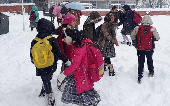 Konya ve Karaman'da kar tatili!