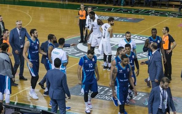Olaylı maçta Daçka, Türk Telekom'u yendi