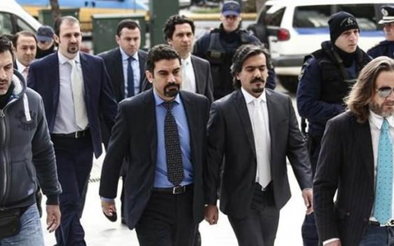 Yunanistan'a kaçan 8 FETÖ'cü hain için son dakika karar çıktı