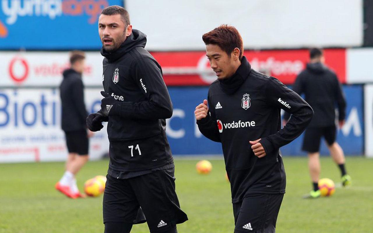 Kagawa, Beşiktaş'taki ilk antrenmanına çıktı