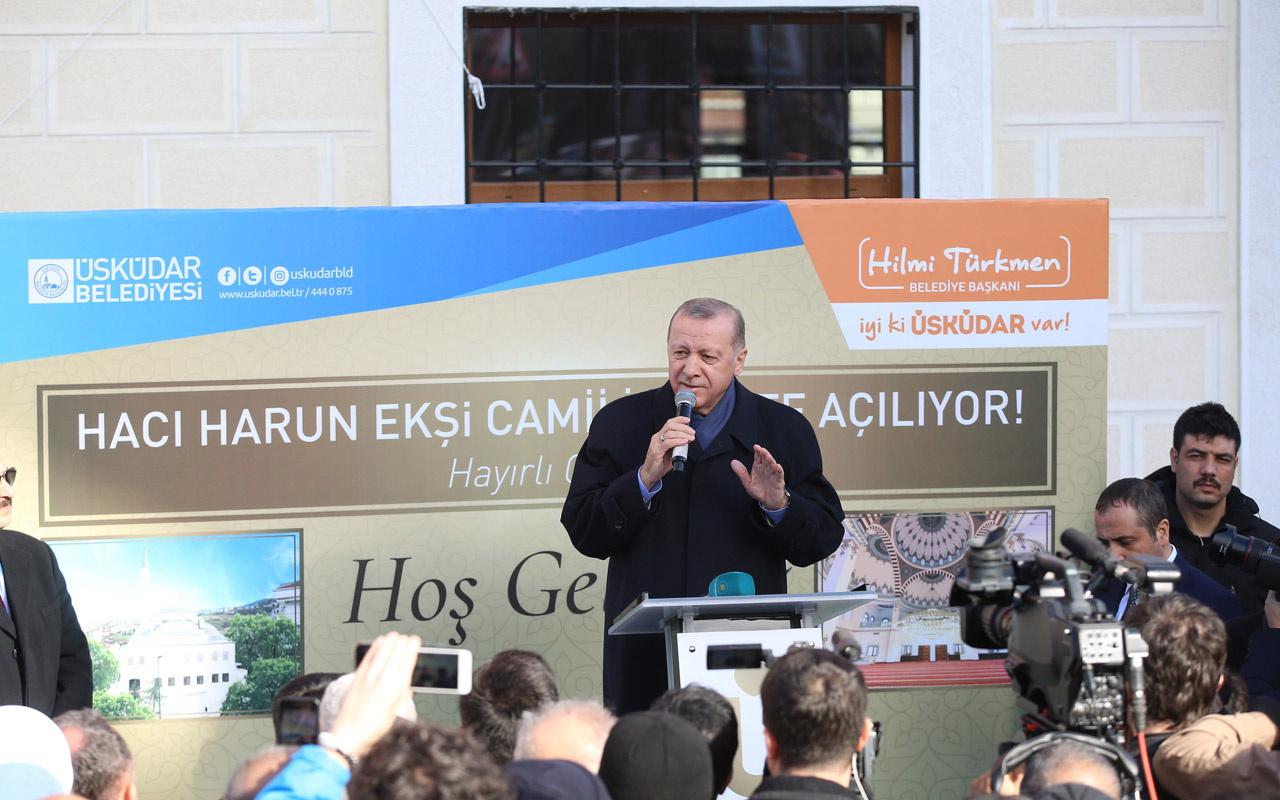 Cumhurbaşkanı Erdoğan: Müteahhite evini vermeye mecbur değilsin