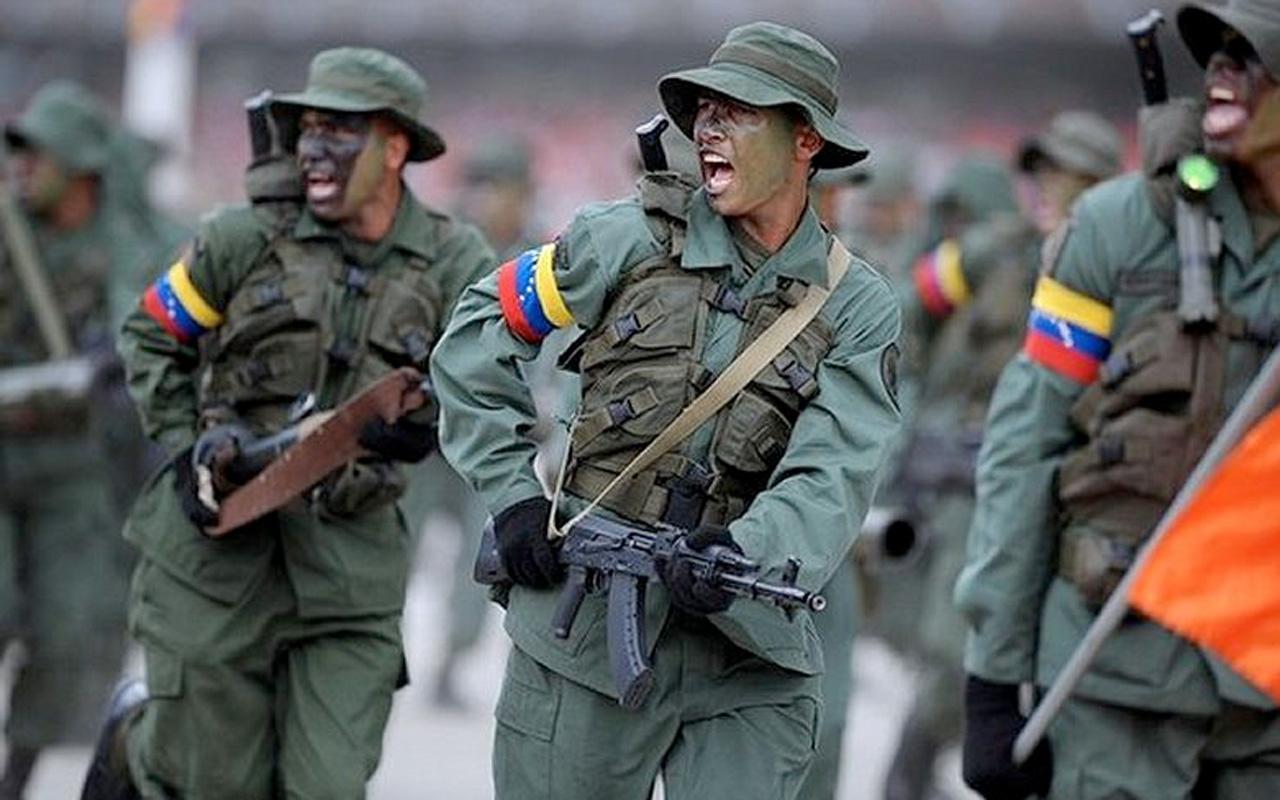 Venezuela ordusu dev askeri tatbikatı başlattı