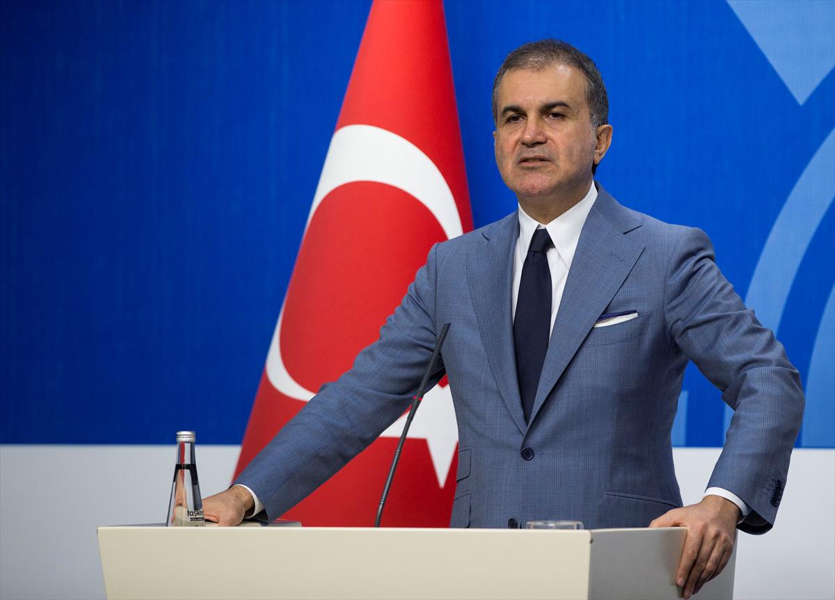AK Partili Ömer Çelik'ten İsrail'in kararına tepki