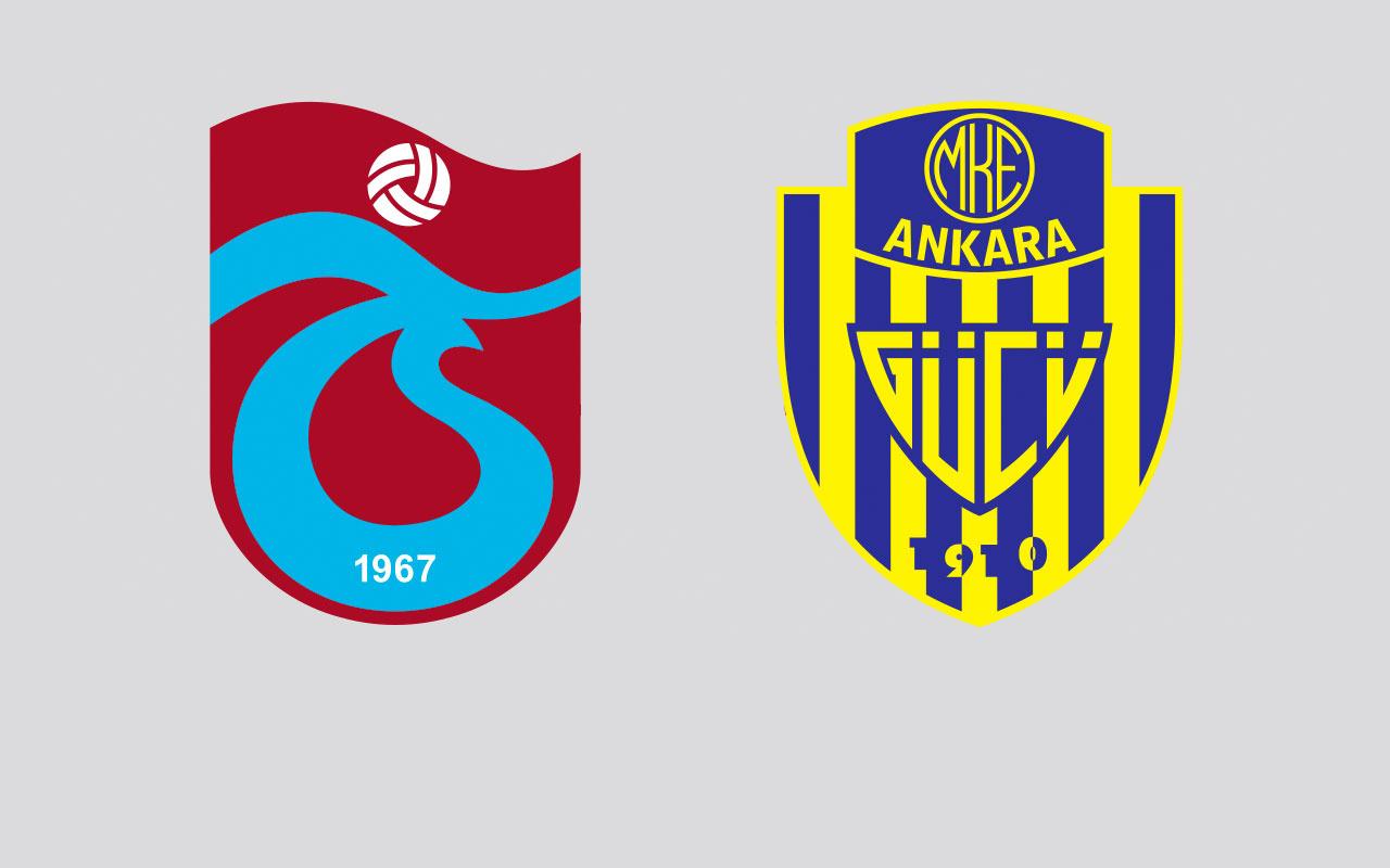 Trabzonspor - Ankaragücü maçı özet ve golleri