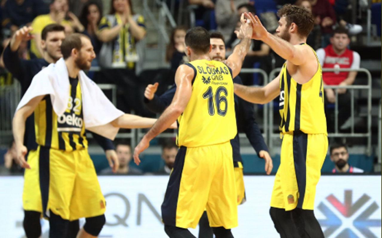 Fenerbahçe Beko evinde Türk Telekom'u rahat geçti