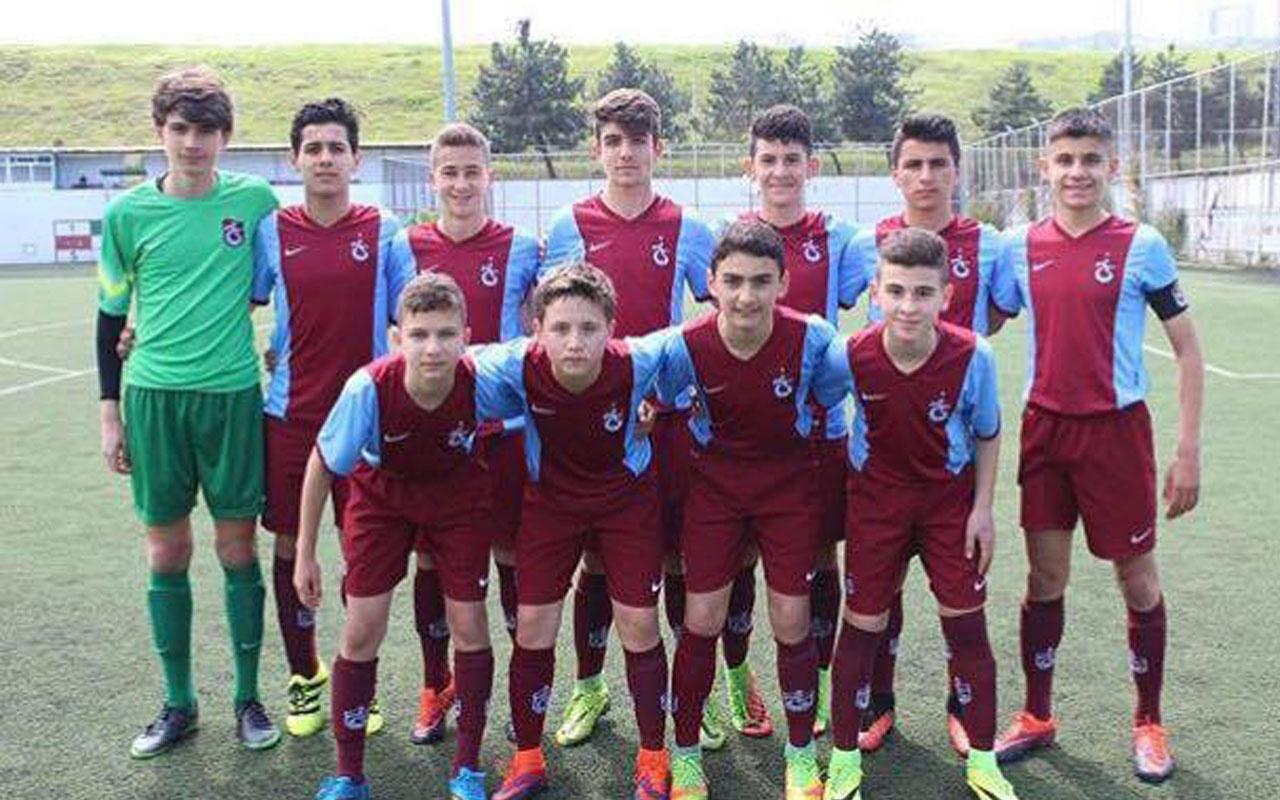 Trabzonspor, 16 yaşındaki kaleci ile profesyonel sözleşme imzaladı