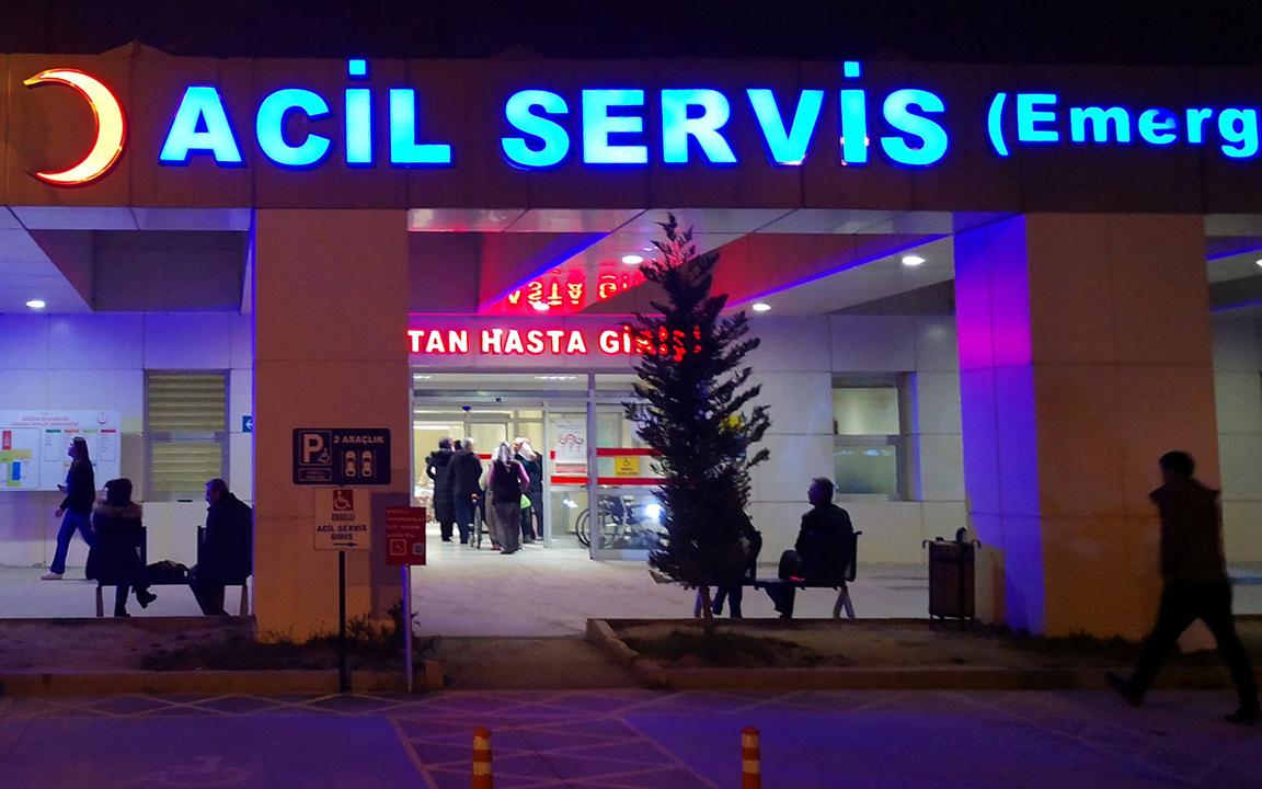 Burdur'da hasta sayısı bir gecede 2 katına çıktı