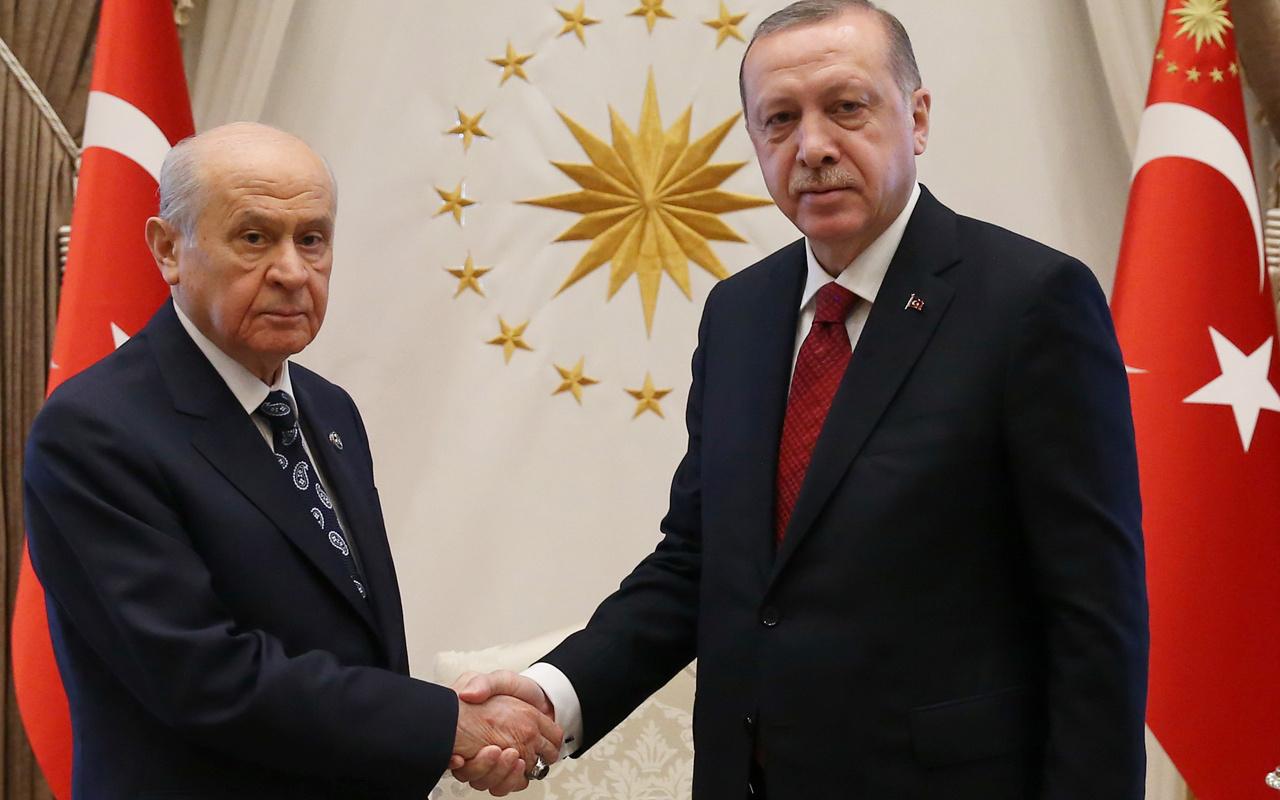 Cumhurbaşkanı Erdoğan Bahçeli ile yarın görüşecek