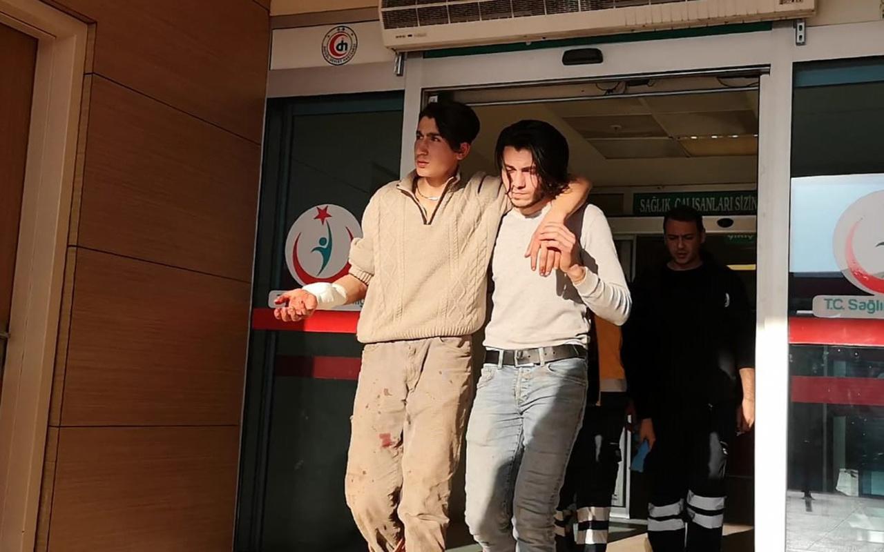 Bursa'da testereli saldırgan dehşeti!