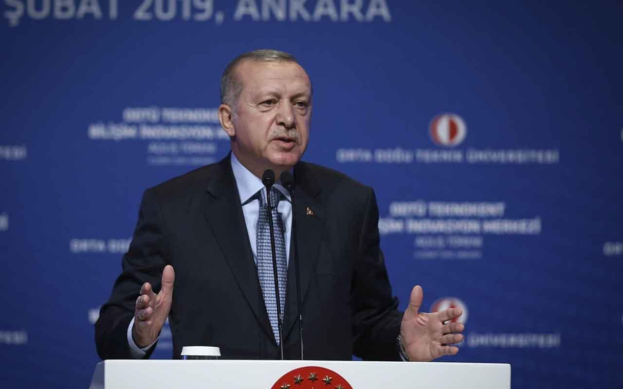 Cumhurbaşkanı Erdoğan'dan vakıf üniversitelerine uyarı