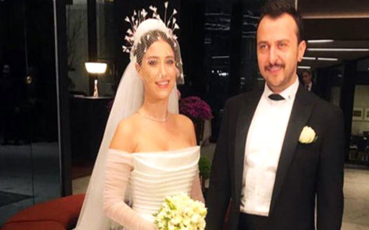 Ali Atay ve Hazal Kaya evlendi İşte düğünden muhteşem görüntüler
