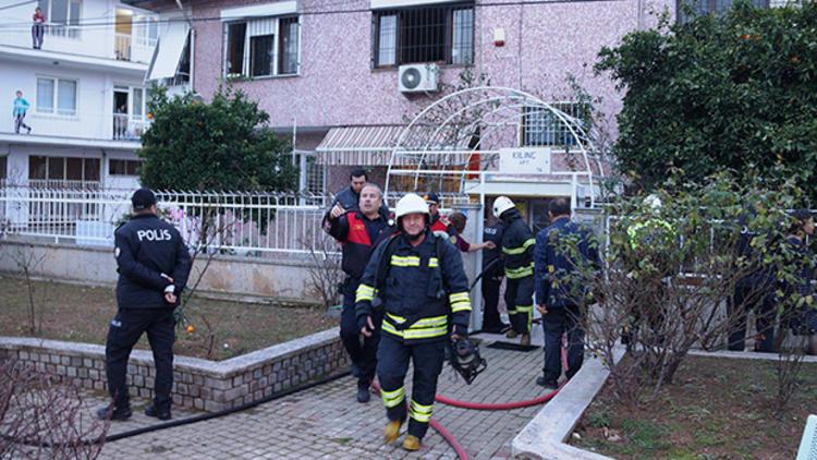 Aydın'da kızlar pansiyonu ateşe verdi