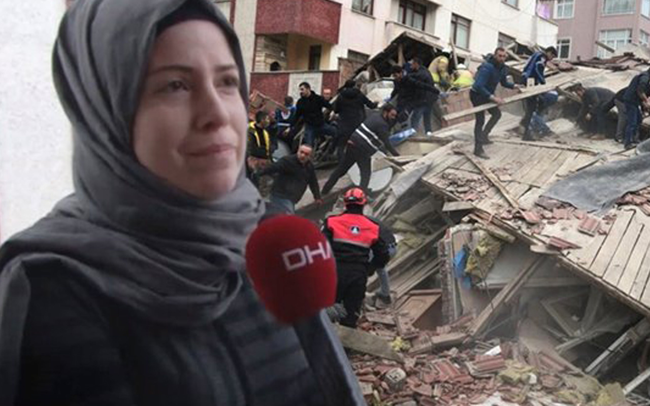 Karşı binada oturan kadın Kartal'daki faciayı gözyaşlarıyla anlattı