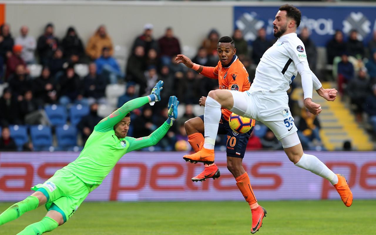 Başakşehir BB Erzurumspor maçı golleri ve geniş özeti