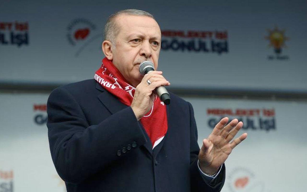 Erdoğan: Ülkenin batması için kriz duasına çıkıyorlar