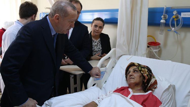 Enkazdan yaralı kurtarılan kadın o anları Erdoğan'a anlattı - Sayfa 1