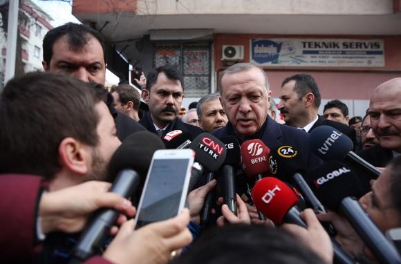 Enkazdan yaralı kurtarılan kadın o anları Erdoğan'a anlattı - Sayfa 3