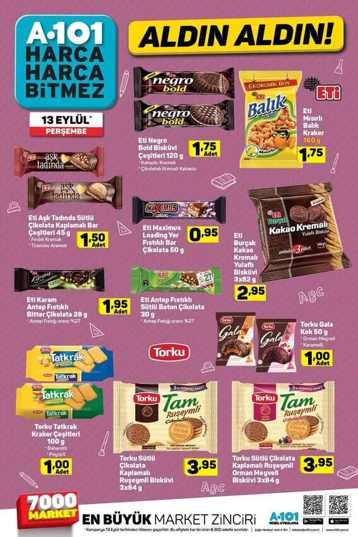 A101 13 Eylül aktüel kataloğu indirimli ürün listesi incelemesi - Sayfa 2