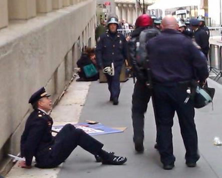 Wall street'i işgal et eylemcileri