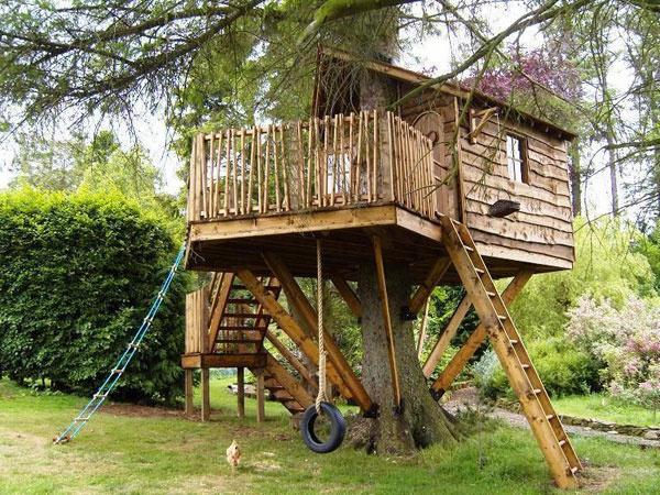 Dünyanın en güzel ağaç evleri!