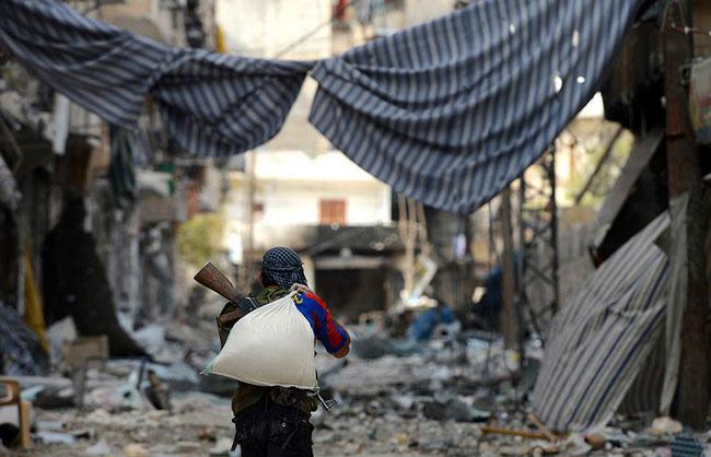 Suriye'den korkunç savaş görüntüleri