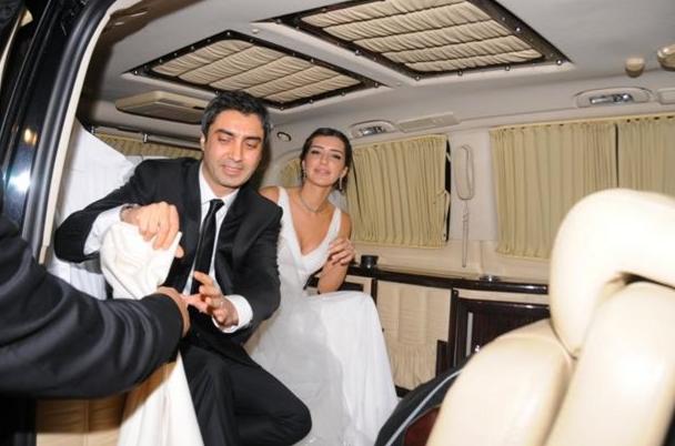 Necati Şaşmaz, Nagehan Kaşıkçı, Necati Şaşmaz düğün