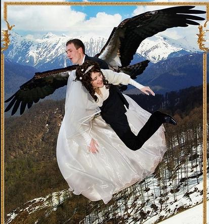 Yok böyle düğün fotoğrafları
