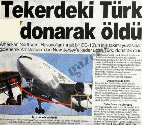 Bu ölümler Türkler'e özgü...