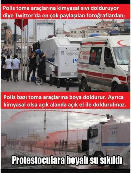 İşte sosyal medyada Gezi yalanları!