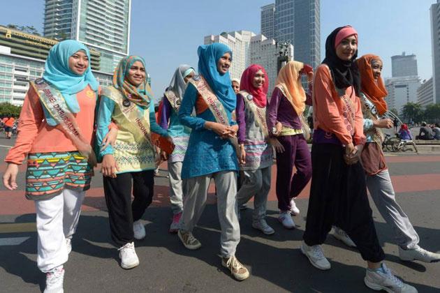 6 Miss Müslüman güzellik yarışması fotoğrafları video izle 2013