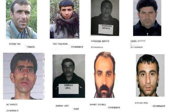 İşte cezaevinden kaçak PKK'lılar