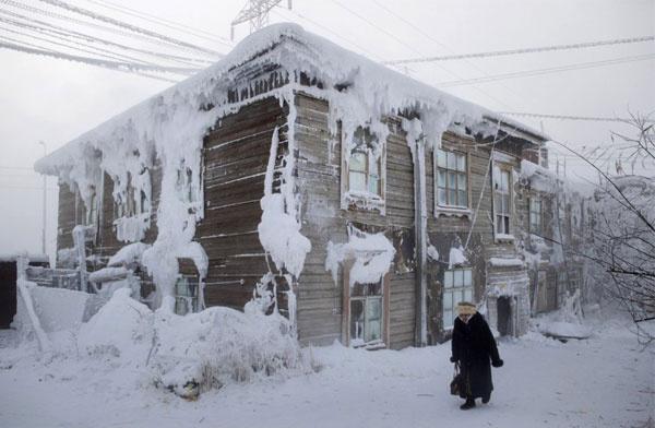 Dünya nın en soğuk şehri şehirde yaşanan anormal soğuklarda