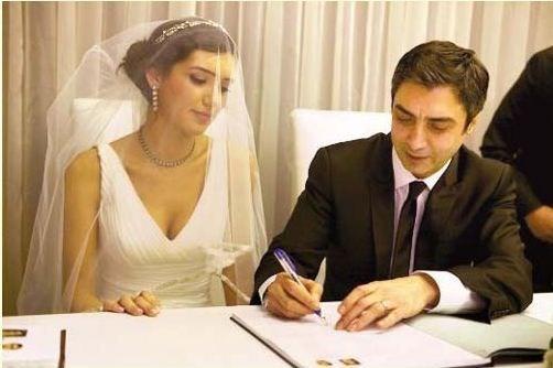 Ünlü isimlerin bilinmeyen düğün fotoğrafları -10-Necati Şaşmaz ile Nagehan Kaşıkçı
