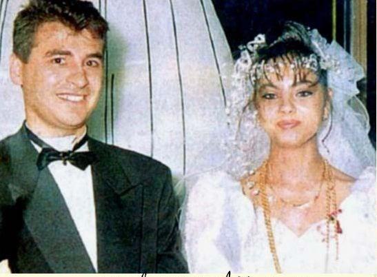 Ünlü isimlerin bilinmeyen düğün fotoğrafları -4-Ebru Gündeş ile Hamdi Vardar