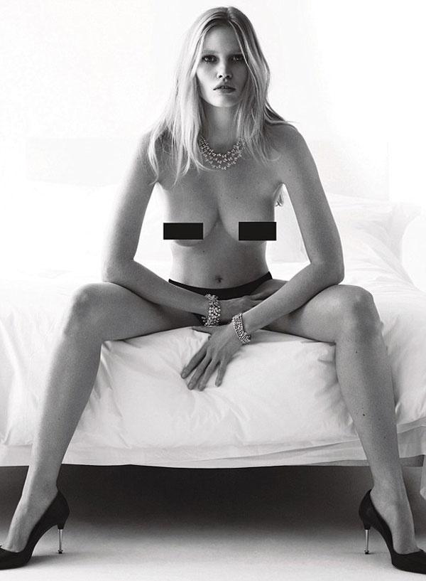 Cindy Crawford Lara Stone W Magazine