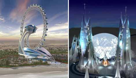 Dubai nin çılgın projesi