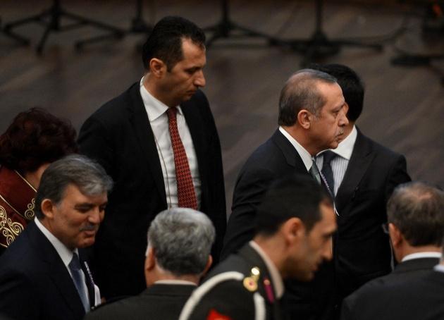 Erdoğan Danıştay'ı terketti 10