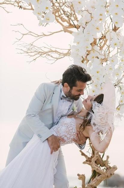 Beren Saat  Kenan Doğulu düğünü muhteşem fotoğraflar-2-