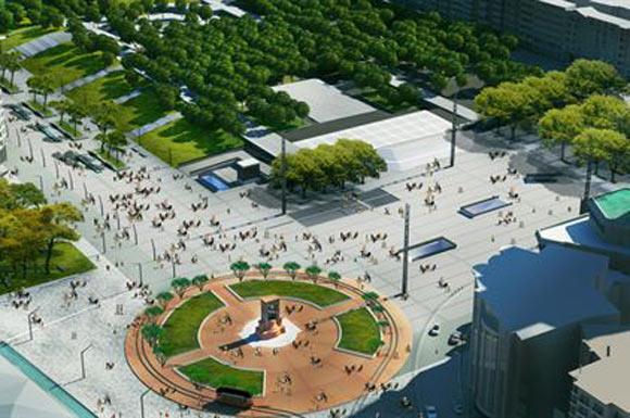 Yeni Taksim Meydanı Projesi