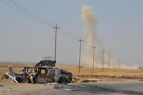 Süleymanbeg kasabası IŞİD'in elinden alındı