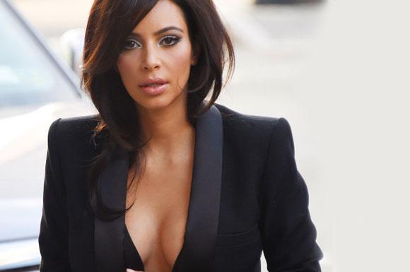 Kim Kardashian'ın bir sırrı var