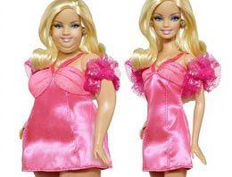 Artık Barbie'nin de selülitleri var
