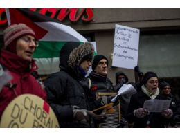 Kanada'da İsrail karşıtı protesto