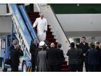 Papa Türkiye'ye böyle geldi...