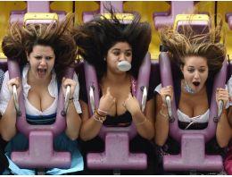 Roller Coaster'dan çılgın görüntüler!