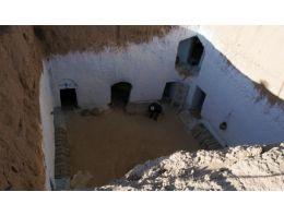 Tunus'ta bin yıllık yeraltı şehri