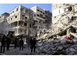 Suriye rejiminden ''vakum bombalı'' saldırı
