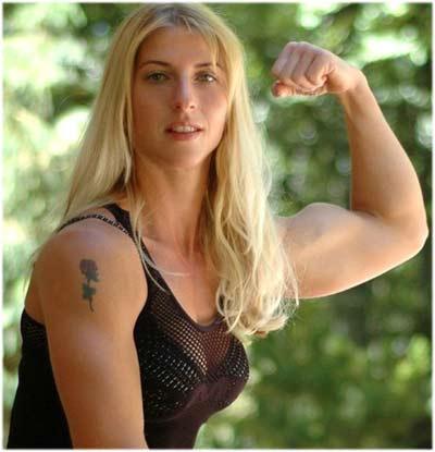 Vücut geliştiren kadınlar