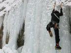 İlk donmuş şelale tırmanışı